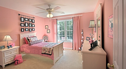 8 decorating ideas for girls rooms new homes homes for for New room design ideas